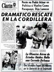 RESCATE EN LA CORDILLERA