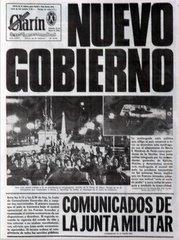 ASUME EL GOBIERNO MILITAR