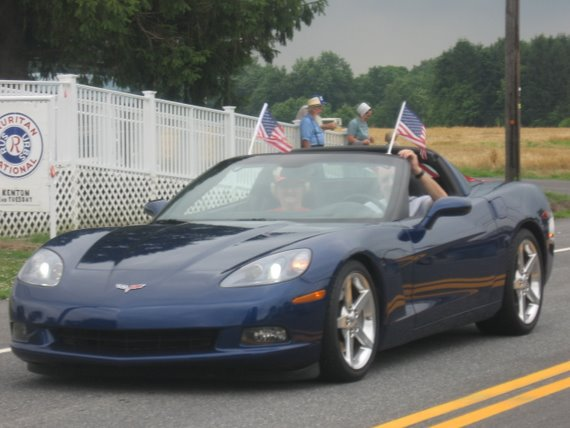 Corvette Club in Kenton Parade
