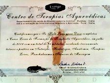 Certificado Ayur Veda