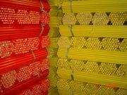 Cabos cedrinho plastificados