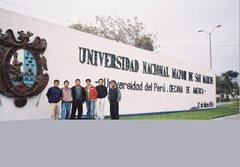 Histórico muro de la verguenza ciudad Universitaria de San marcos