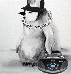 Pingüino lírico