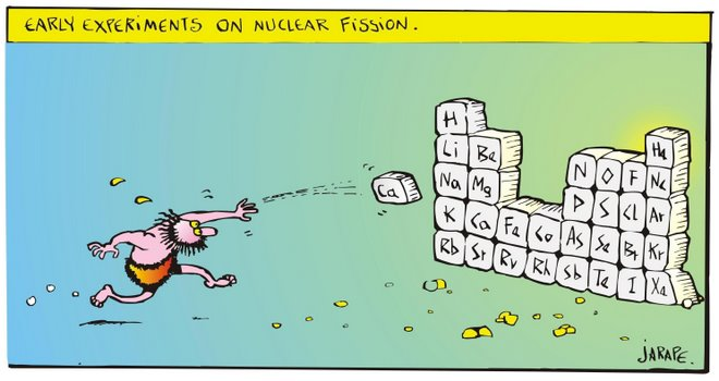 Earlier experiments on nuclear fission