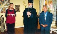 opening by arcbishop chrysostomoms, sofronios mantis cultur heritage, barbara streiff paphos cy