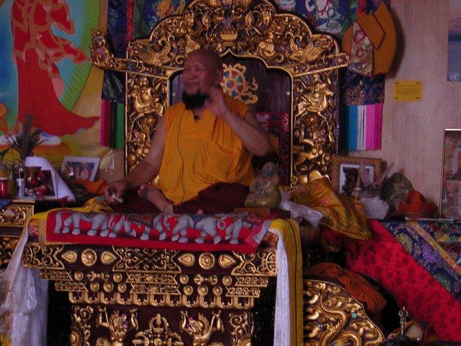 Peace Art Centre of Ganchen Rinpoche Albagnano Italy