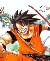 Goku de One Piece