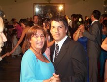 german y mi hermana recepcion