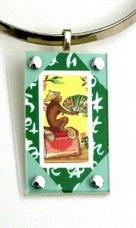 Oriental Monkey Pendant