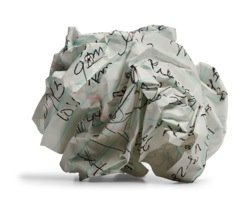 Bits of Paper...