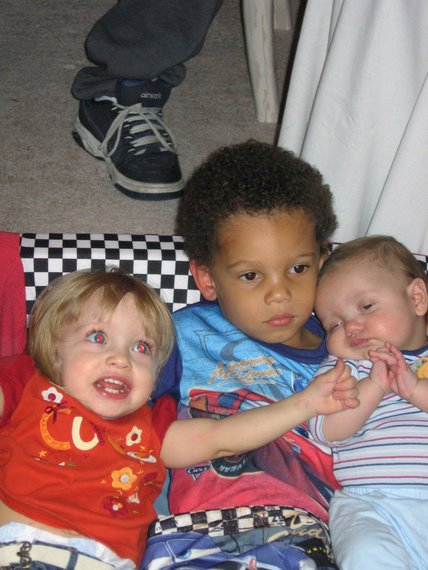 Tommy and his crazy cousins Adriana and baby Lee