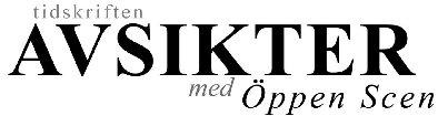 Tidskriften Avsikter med Öppen Scen