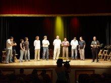 la plantilla de profesores del curso internacional de musica vila de l'olleria 2006