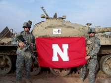 Huskers in Iraq