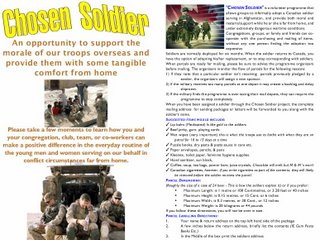 The Chosen Soldier Program