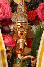 Gajananam Bootha Ganathi Sevitham