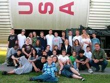 Whitmore kids visiting NASA