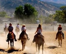 Whitmore kids enjoying a day riding!
