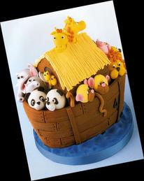 * Sugestões para bolos *  -Arca de Noé