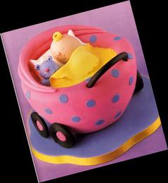 * Sugestões para bolos * Carrinho de bebé