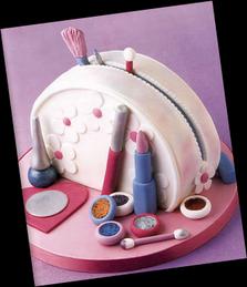 * Sugestões para bolos * Estojo de Maquilhagem