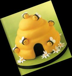 * Sugestões para bolos * Abelhinhas