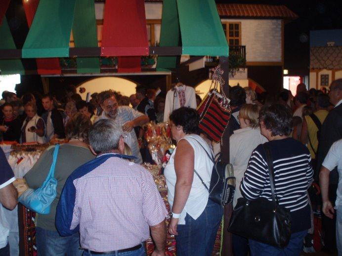 Sept 2006 - Animation de la foire expo du Mans