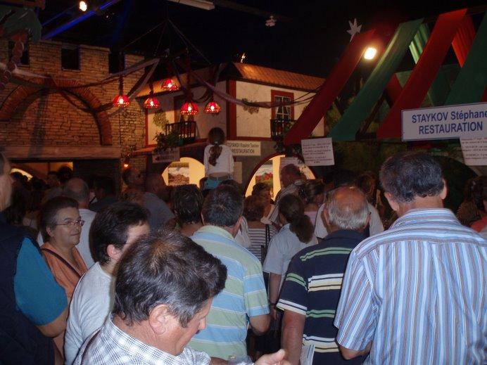 Sept 2006 - Stand des vins bulgares - Foire expo du Mans