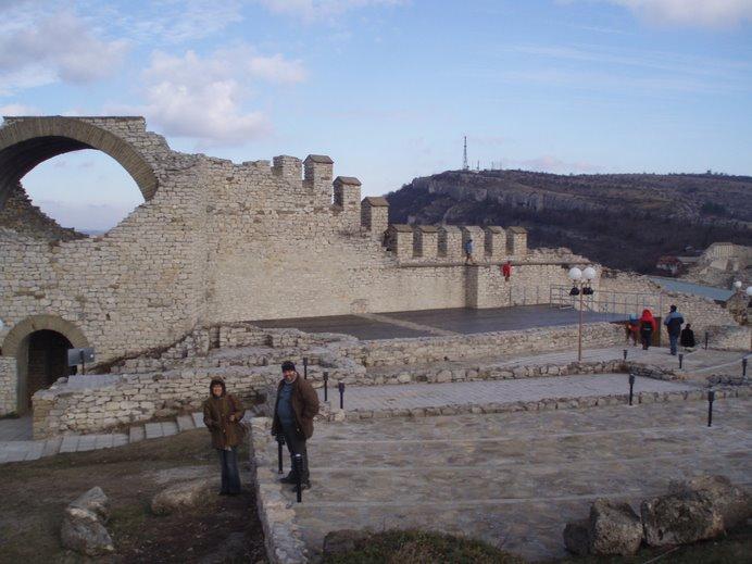 Janv 2007 : L'espace scénique dans la forteresse de Lovech
