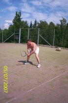 Tervetuloa kesän 2007 tennisvuoroille Nokian tenniskentälle