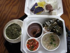 Laulau plate lunch