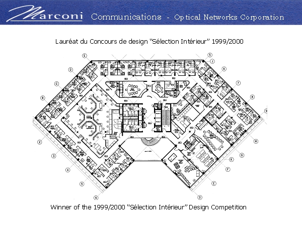 Marconi 2nd floor plan