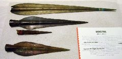 Museo Arqueológico de A Coruña - Puntas de lanza