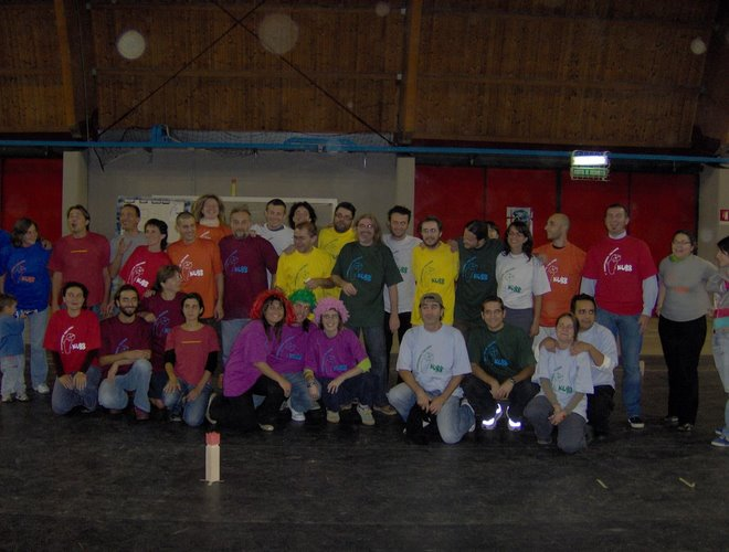 campeones de Kubb 2006 Italia