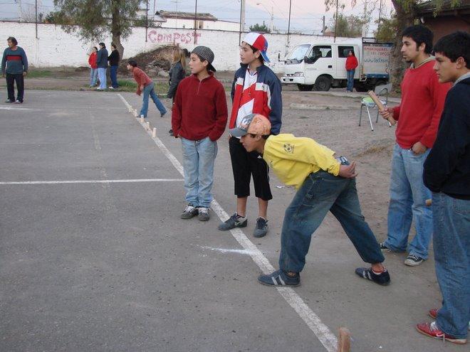 jugadores de kubb