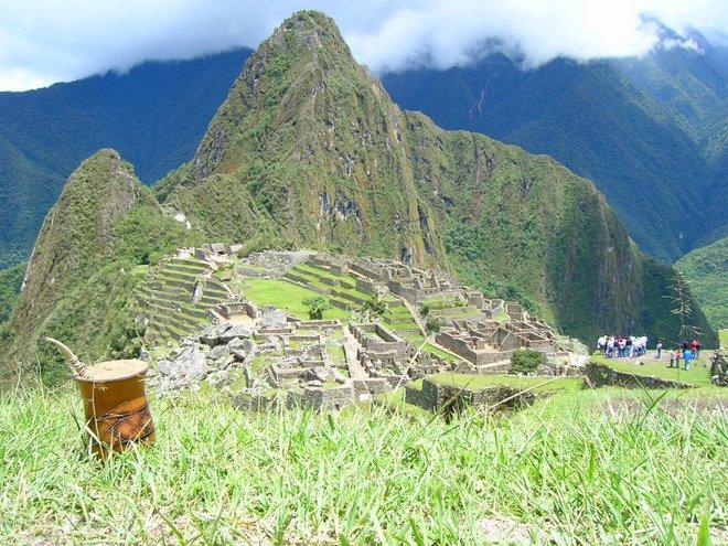 Un Mate en Machu Pichu...