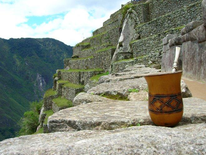 Un Mate Sagrado: en Machu Pichu