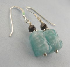 Icy Chocolate Earrings