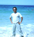 on Expatriat Beach in Libya