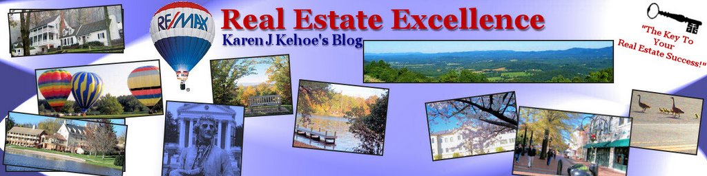 Charlottesville & Central Virginia Real Estate Blog: Real Estate Excellence, Karen Kehoe