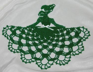Camponesinha verde