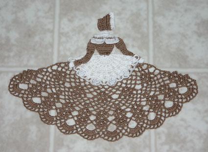 Camponesinha marrom