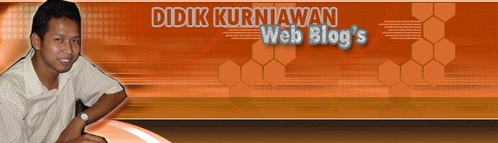 Didik Kurniawan Blog's