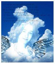 La sottoscritta Photoshoppata in versione Angel!