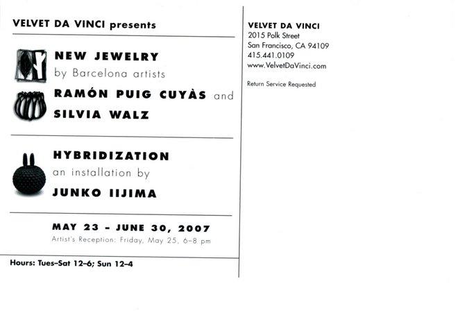 Exhibition Velvet da Vinci