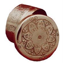 alajero de cobre grabado