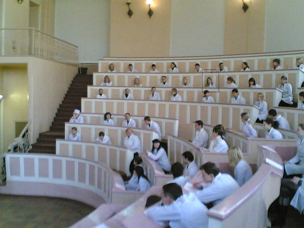 ODESSA DEVLET TIP UNİ sınıflar