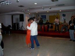 A bailar en II Congreso de Historia Regional en Miranda