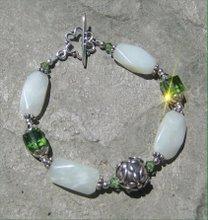 Jade and Peridot Crystal