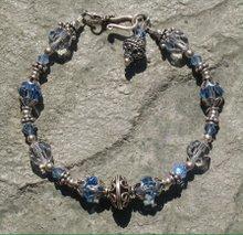Light Saphire Crystal Bracelet